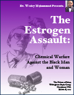 The Estrogen Assault: Chemical Warfare Against the Black Man and Woman