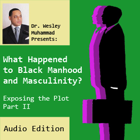 Audio of What Happened to Black Manhood and Masculinity Part 1 by Wesley Muhammad